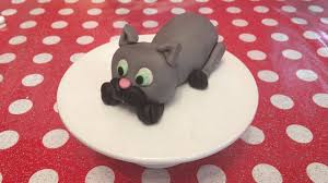 cat cake topper how to make a cat cake topper