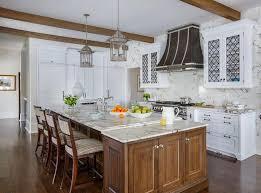 Oak Trellis White Kitchen Cabinets With Iron Moroccan Trellis Grille Doors