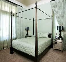 bedroom baroque mirrored bedside table in bedroom contemporary
