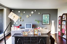 home interior accents teal accent wall kitchen the gray accent wall provides a crisp