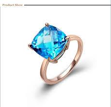 natural gem rings images 14k rose gold natural topaz ring gold colored natural gem stone jpg