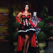 online get cheap red queen hearts costume wonderland aliexpress