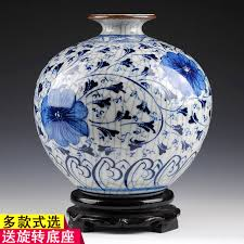 Chinese Hand Painted Porcelain Vases Aliexpress Com Buy Ornaments Hand Painted Antique Underglaze