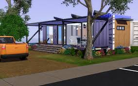 mod the sims bachelor container living