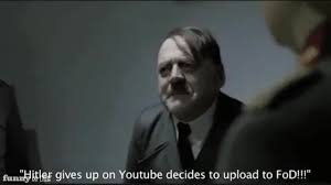 Downfall Meme - finds out the hitler downfall parody videos are being taken