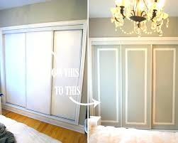 Painting Sliding Closet Doors Closet Doors Ideas Interesting Unique Closet Door Ideas For Your