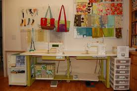 How To Make A Sewing Table by My New Sewing Table Candied Fabrics
