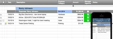 Sle Of Expense Sheet by Expense Report Template Smartsheet