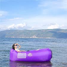 wekapo inflatable lounger air sofa hammock portable water proof u0026
