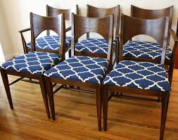 Recover Dining Room Chairs Home Design Ideas - Reupholstering dining room chairs