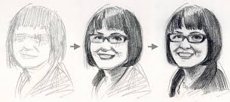 drawing a self portrait 4 essential tips