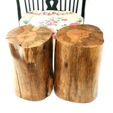 tree stump table base silver tree stump table silver tree stump side table by on silver