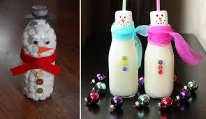 marshmallow snowman a craft