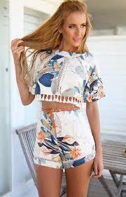 jumpsuit jum pompom shorts top crop tops shirt summer boho