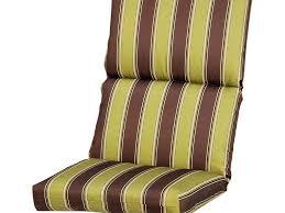 high back patio chair cushions patio high back chair cushions