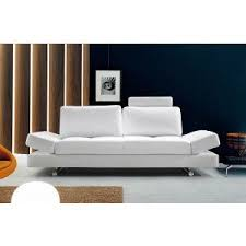 White Contemporary Sofa by Best 25 White Leather Sofas Ideas On Pinterest White Leather