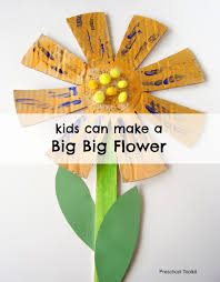 a big big flower craft for kids allfreekidscrafts com