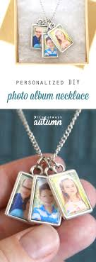 s day necklace diy photo album necklace for s day it s always