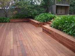 Deck Planters And Benches - merbu deck with planter box u0027s by leisure decking timber decking