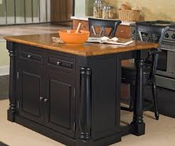 portable kitchen island with stools debonair kitchen wooden black painted kitchen island stool set