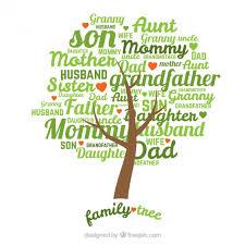 family tree vector free
