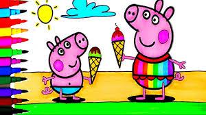 Peppa Pig 2017 Book Peppa Pig Best Coloring Book Pages Peppa And George Summer