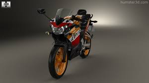 honda cbr125r 360 view of honda cbr125r 2012 3d model hum3d store