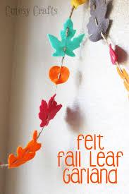 25 unique fall felt crafts ideas on felt leaves felt
