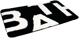 Bathroom Rugs Uk Black White Bath Rug Jeux De Decoration