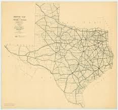 Highway Map Map Collection Texas State Library And Archives Commission