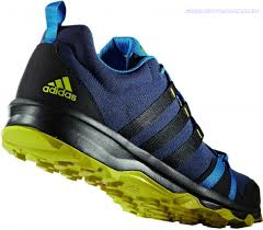 mens outdoor shoes blue grey adidas tracerocker hiking boots