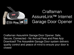 craftsman garage door opener app home control ask george kopp