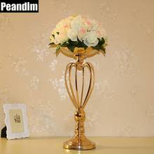 Gold Centerpiece Vases Online Get Cheap Gold Flower Centerpieces Aliexpress Com