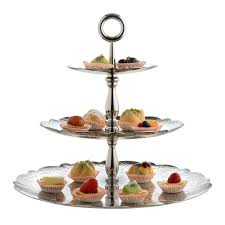tier cake stand dressed for x three tiered cake stand by alessi emmo home