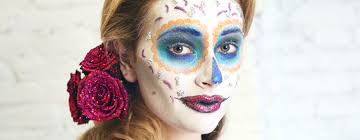day of the dead costumes spirit halloween sugar skull makeup an easy tutorial for day of the dead glamour