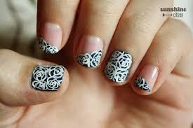 black rose nail art images nail art designs
