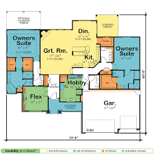 single story home plans with two master suites storyhome plans