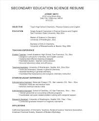 sample high student resume for college sample of high