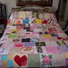 memory clothes crafty quilt portfolio large quilts baby clothes memory quilt