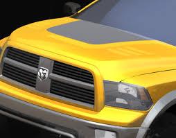 Dodge Ram Yellow - sema preview 2009 dodge ram trxtreme