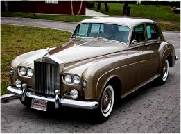 roll royce brown silver cloud iii lsgt411