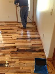 how to use wood pallets to create a floor pallet wood pallets