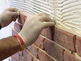 how to install brick veneer on a wall how tos diy