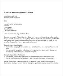 7 job application letters for doctor free word pdf format