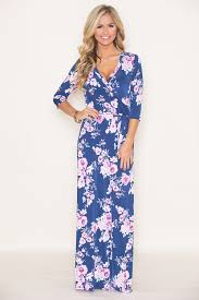 maxi dresses all about that floral maxi dress navy the pink