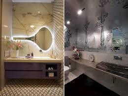 Shaped Bathroom Mirrors by Av Fourth Dimension Designs A Luxury Apartment In Suburban Mumbai