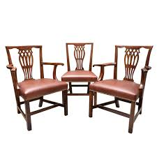 Dinette Chairs by Late 18th Early 19th Century English Set Of 12 Mahogany Dining