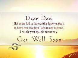 get well soon kid not every kid in the world is lucky