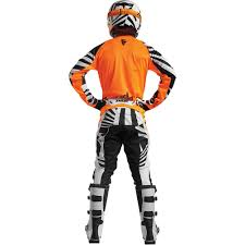 Thor 2017 New Kids Mx Gear Fuse Air Dazz Flo Orange White Youth