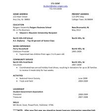 college resume formats college students resume format sle http www resumecareer